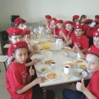 Юнармейский обед